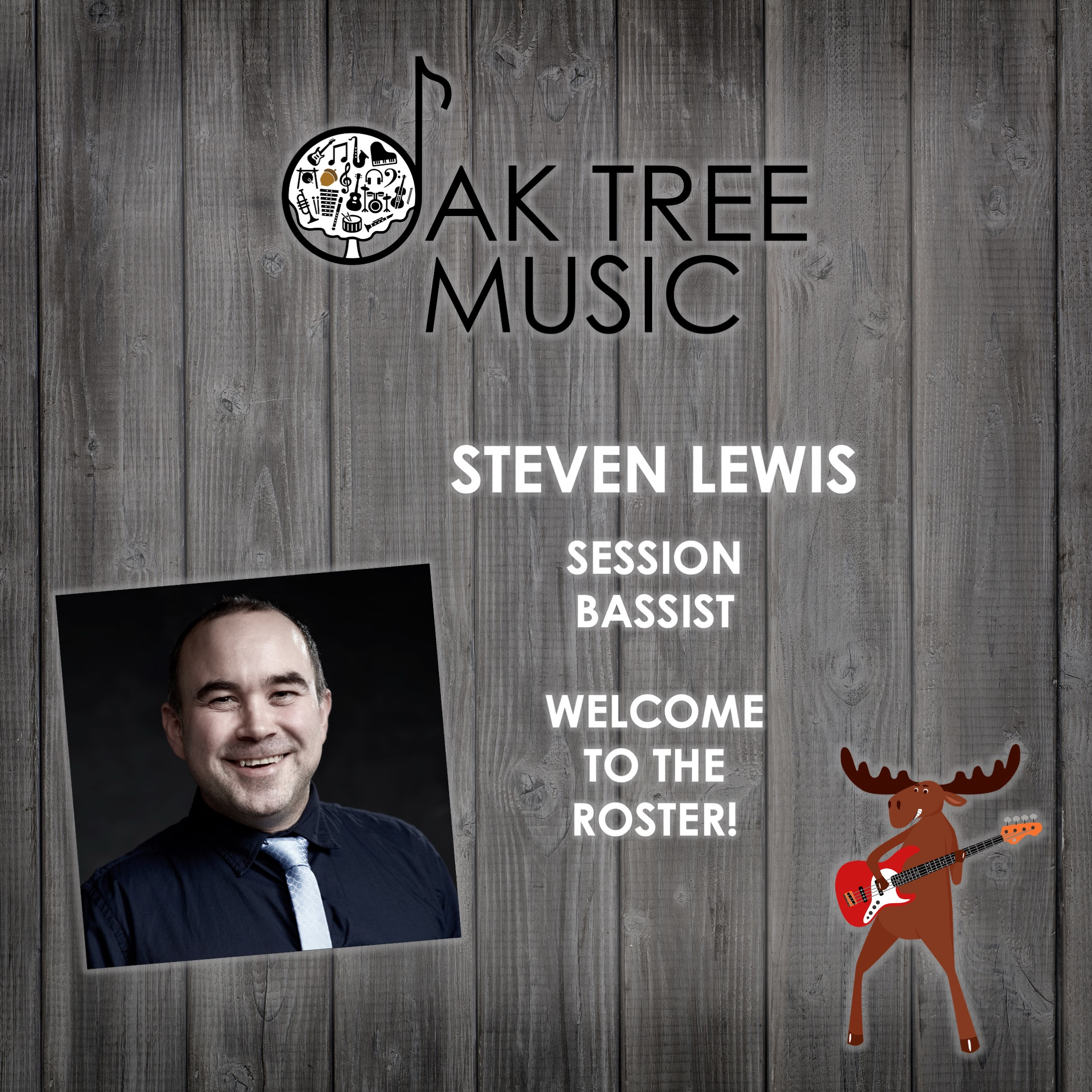 Welcome to the Oak Tree Music Roster - Steven Lewis